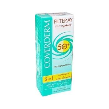 Coverderm - Filteray Face Plus 2 in 1 Sunscreen & After Sun Care SPF50+ 50ml