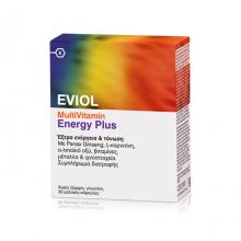 Eviol - MultiVitamin Energy Plus, 30 Μαλακές Κάψουλες