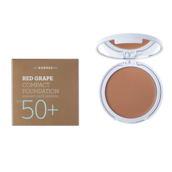 Korres - Red Grape Compact Foundation SPF50+, Light