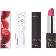 Korres - Morello Matte Lipstick Long Lasting (3 Αποχρώσεις)