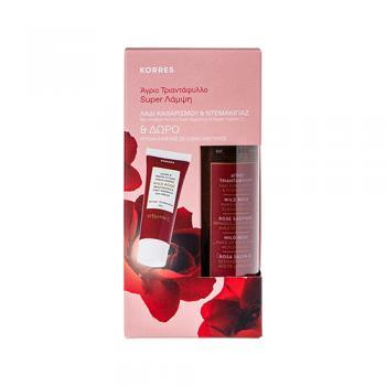 Korres - Άγριο Τριαντάφυλλο - Λάδι Καθαρισμού & Ντεμακιγιάζ 150ml (Limited Edition)