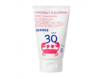 Korres - Καρύδα & Αμύγδαλο - Βρεφικό Αντηλιακό Γαλάκτωμα για Πρόσωπο & Σώμα SPF30