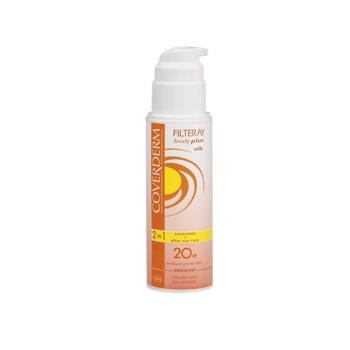 Coverderm - Filteray Body Plus Milk Spf20, 150ml
