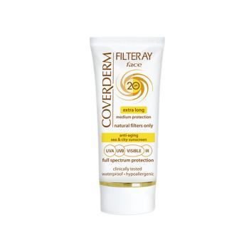 Coverderm - Filteray Face Spf20, 50ml