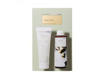 Korres Happy To Gift The Saffron Spices Collection Set Με Αφρόλουτρο Saffron Spices 250ml & Aftershave Βάλσαμο Για Μετά Το Ξύρισμα 125ml
