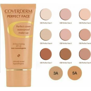 COVERDERM PERFECT FACE - WATERPROOF MAKE UP 1+1 ΔΩΡΟ 02 30ml