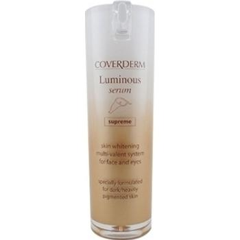 Coverderm - Luminous Serum Supreme, Λευκαντικός Ορός Ιδανικός για το Σκουρόχρωμο & με Έντονες Δυσχρωμίες Δέρμα, 20ml