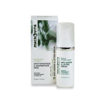 Macrovita  - Αντιγηραντικός & Ανορθωτικός Ορός [serum] με Λάδι Ελιάς & Λυγαριά 30ml