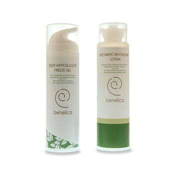Benelica - Enzymatic Slimming System Enzymatic Revitalizing Lotion & Body Anticellulite Freeze Gel