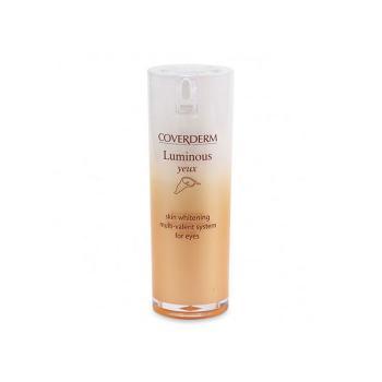 Coverderm - Luminous Yeux, Λευκαντική & Αντιρυτιδική Κρέμα-Ζελ Ματιών 15ml
