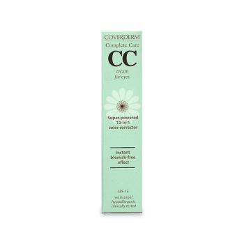 Coverderm - Complete Care CC Cream for Eyes SPF15 Soft Brown 15ml
