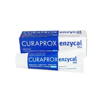 Curaprox - Enzycal 950 Οδοντόκρεμα με Φθόριο & Πρωτεϊνες Γάλακτος 75ml