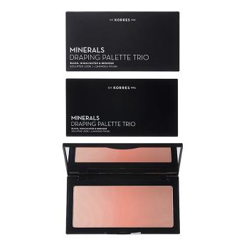 Korres - Minerals Draping Palette Trio Coral Palette