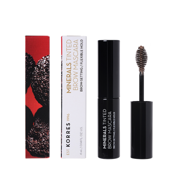 Korres - Minerals Tinted Brow Mascara Dark 4ml