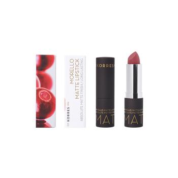 Korres - Morello Matte Lipstick Natural Purple Matte