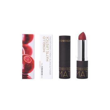 Korres - Morello Matte Lipstick Burgundy Red Matte