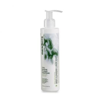 Macrovita - Υγρό Σαπούνι για Βαθύ Καθαρισμό με λάδι Ελιάς & Πρόπολη για Όλους τους Τύπους Δέρματος & Ευαίσθητες Περιοχές 200ml