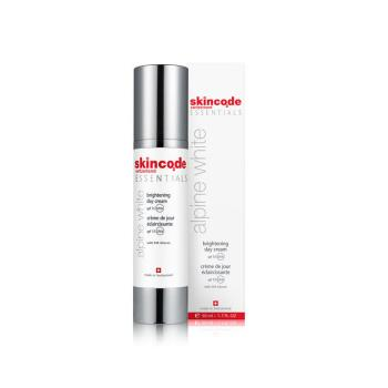 Skincode - Alpine White Brightening Day Cream Spf15 50ml (Τιμή Προσφοράς)