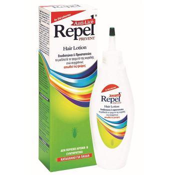 Uni-Pharma - Repel Prevent Anti-Lice Hair Lotion, Άοσμη Προστασία από τις Ψείρες 200ml