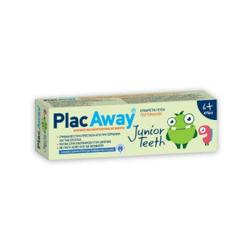 Omega Pharma - Plac Away Junior Teeth 6+, Παιδική Οδοντόκρεμα 50ml