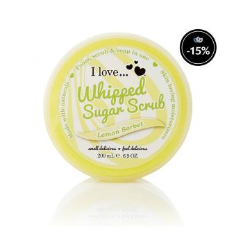 I Love...Cosmetics - Lemon Sorbet Whipped Sugar Scrub 200ml