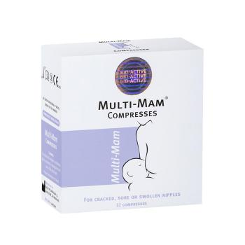 Virtus Pharma - Multi-Mam Compresses 12 σακουλάκια