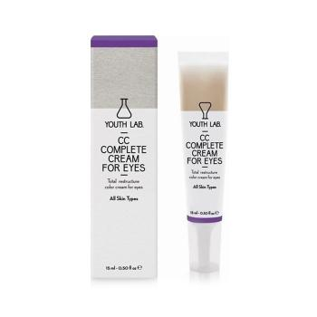 Youth Lab - CC Complete Cream for Eyes, Καλυπτική Κρέμα Ματιών με Χρώμα 15ml